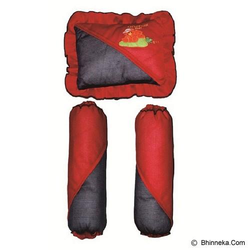 CHINTAKA Bantal + Guling Bayi [CBB 110100N] - Red Navy - Perlengkapan Tempat Tidur Bayi dan Anak